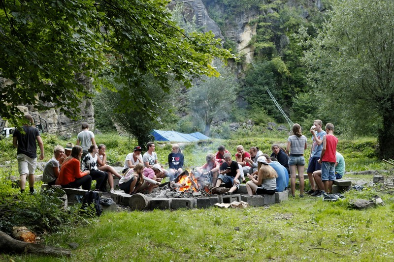 5 Daagse Outdoorweek Ardennen - Camping Au Bord de l'Ourthe